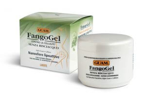 Morske alge Guam Fango gel proti celulitu za efektivno preoblikovanje telesa