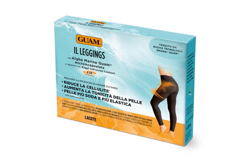 Pajkice iz morskih alg Guam Leggings za cvrsto in napeto kozo preoblikovano zadnjico in noge brez celulita